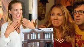 Vondráčková točila Dokonalý polibek u sebe doma: Umírala jsem u toho!