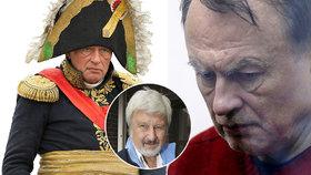Šílený profesor od Slavkova rozsekal milenku: Proč se chtěl zabít v kostýmu Napoleona? Je to jasné, říká expertka