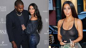 Konec ukazování ňader Kardashianové! Kanye West našel Ježíše a chce Kim zahalovat