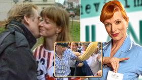 Bára Štěpánová v roce 1989: Pořádání demonstrace a líbačka s Havlem (†75)!