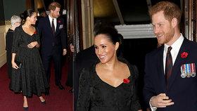 Meghan je už zase těhotná? FOTO a příznačné gesto hovoří za vše!