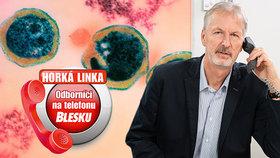 Muž s bulkou v prsu, nakažlivé chlamydie i demence z alkoholu: Odpovědi odborníků na telefonu Blesku!