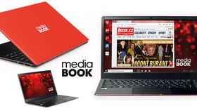 MediaBOOK: Notebook bez bariér za fantastickou cenu! Zkuste ho i vy!