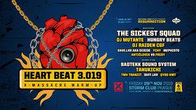 Heart Beat 3.019: Vystoupí The Sickest Squad i DJ Mutante