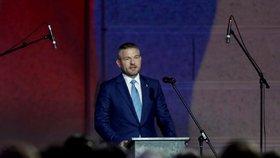 Pellegrini v Praze připomněl Havla i Dubčeka: Změna režimu bez násilí není samozřejmá