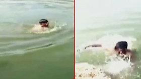 Mladík (†22) se topil ve vodě. Kamarádi si ho natáčeli a smáli se mu