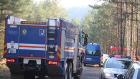 Policie šetří výbuch u České Lípy: Jeden pracovník je v kritickém stavu!