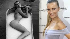 Modelka Chmelířová a její nejodvážnější fotky: Nahá mávala veslařům!