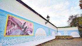 Sametový Karlův most na Kampě: Umělec ho vytvoří z kachliček, bude připomínat historické milníky