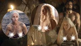 Emilia Clarkeová ze Hry o trůny: Sex se mi příčil, ale přechlastala jsem to!