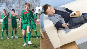 Puberťáci jsou lenoši a málo se pohybují, tvrdí studie. Ti čeští dopadli překvapivě