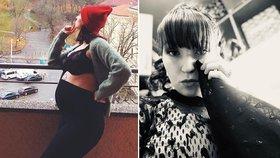 Šíleně smutná Berenika Kohoutová: Těhotná herečka oznámila v slzách konec!