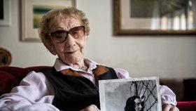 Dalma Špitzerová: Koncentrační tábor jsem přežila jen díky divadlu