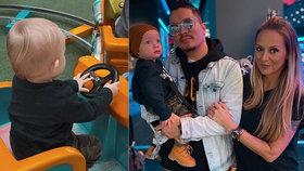 Gavriely (41) rok od porodu ukázala syna! Co si vzal z tátových genů?