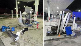 VIDEO: Řidič tiráku zdemoloval čerpací stanici na Moravě: Přišel o papíry i o kamion!