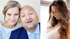 """Moderátor Hezucký se pochlubil """"pupkatou"""" manželkou: Nikola těhotenstvím zkrásněla!"""