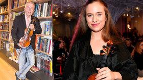 Dcera houslisty Svěceného Julie: Překvapená reakce na tátovu novou přítelkyni!