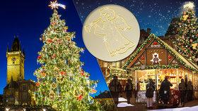 """Nadpozemské Vánoce v Praze: Nad """"Staromák"""" se vznesou andělé, doprovodí je hudba z hor"""