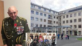 Veteráni se dočkali luxusu: Vojenská nemocnice pro ně otevřela zrekonstruovaný domov, na vizitu přijeli i ministři