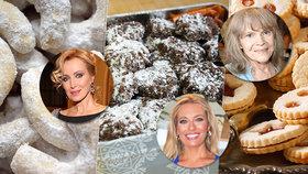 Vánoční cukroví podle celebrit: Tak peče Pilarka, Borhyová a Brožová