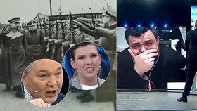 """""""Šašek, který udělal Rusům klystýr."""" Novotný ukázal propagandě fakta, tvrdí analytici"""