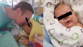 Předčasně narozeného chlapečka nechali hodiny umírat bez mámy Marcely?! Táta promluvil o největší bolesti