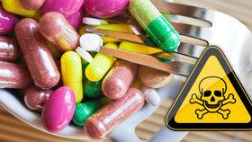Doplňky stravy vás můžou i zabít. Které látky v nich vám poškodí orgány?