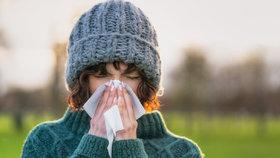 Chřipková epidemie v Praze: Nemocnost mírně klesá, nemocných dětí do 14 let je ale víc