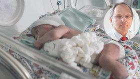 Předčasný porod můžeme předpovědět, vzkazuje expert! Nová unikátní metoda je zdarma