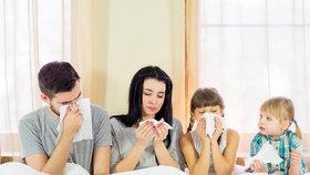 Viróza v rodině? Na tohle dávejte pozor, abyste se nenakazili všichni!