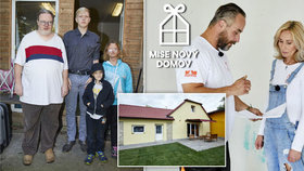 Smolař Tomáš z Mise nový domov: Z rozpadlé chatrče má luxusní vilu!