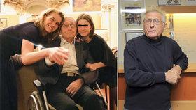 Nemocný Jiří Menzel (81) opět ve společnosti: Žena ho vyvezla, vypadal skvěle!
