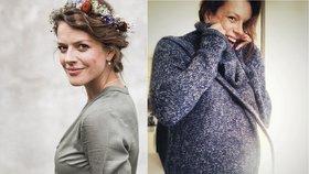 """Andrea Růžičková to má """"za pár"""": Obří pupík a emocionální houpačka!"""