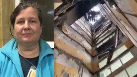Svědectví z Prešova: Chtěla jsem odejít z bytu, místo schodů tam byla obrovská díra, říká Bibiana