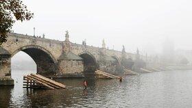 Žádný sníh, ale déšť! V Praze na Štědrý den bude až 8 stupňů, ke konci týdne se trochu ochladí
