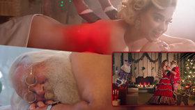 Katy Perry opět šokuje: Vánoční klip s nahým Santou!