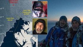Drama při dobývání severního pólu: Mužům docházelo jídlo, jeden se propadl do ledové vody