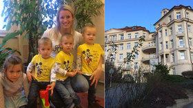"""Šok pro nastávající mámu: """"Nečekáte dvě, ale tři děti."""" Lucie syny porodila předčasně. V Podolí je měsíc piplali"""