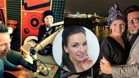 Moderátorka (31) rádia Kiss v přímém přenosu přiznala nádor v mozku