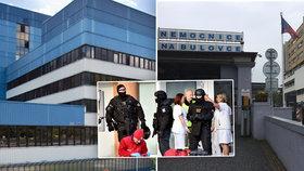 Šest mrtvých po masakru v Ostravě: Jak jsou na tom s bezpečností pražské nemocnice? Vlastní zásahovka i SOS tlačítka