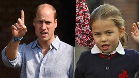 Přísný otec William zakázal Charlotte dárek k Vánocům: Na tohle je malá!