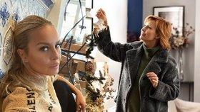 Celebrity na síti i před Vánocemi! Krainová se rozlítila a Schneiderová rozšířila sbírku!