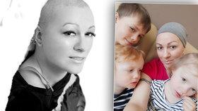 Boj trojnásobné maminky Petry (39) s rakovinou: Jako by mi vyrvali srdce, říká o návratu nemoci
