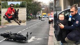 Petru F. (†35) srazil motorkář: Policisté teď vybírají peníze na osiřelého Tomáška (2,5)