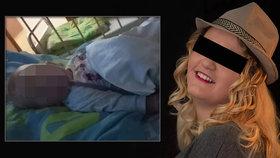 Řidiči neuhnuli sanitce s miminkem: Eliška (9 měs.) zemřela! Babička poslala drsný vzkaz viníkům