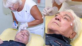 Jiří Krampol (81) si nechal vytáhnout obličej! Chytá snad druhý dech?