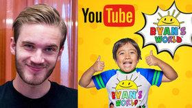 Školák (8) trhá rekordy. Malý youtuber vydělal letos už přes půl miliardy