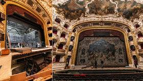 Záhadné zmizení opony ze Státní opery: Nahradila ji kopie! Obrovské plátno poprvé vytáhli nad jeviště