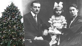 100 let od vánočního zázraku: V lese ležela promrzlá Liduška, stromečky máme kvůli ní