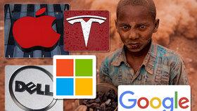 Google, Apple a Tesla využívají dětské otroky? Pět firem čelí vážnému obvinění